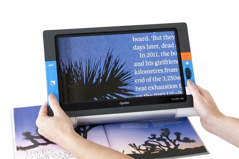 卓上型拡大読書器「トラベラー HD」